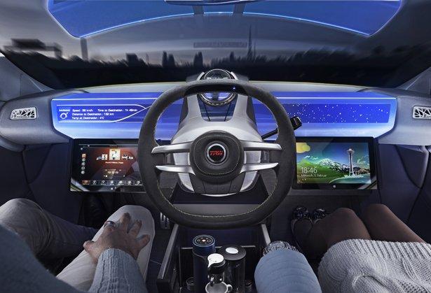如果Rinspeed XchangE 自动驾驶概念车是我们未来标准的交通工具,那我愿意穿越时空去未来。从外形上来看,它和所有的汽车没有差别。但是在车身内部,到处充满未来的新科技,就是为了使我们的驾驶过程尽可能的舒服。所有主要的汽车制造商都在设计开发自动驾驶汽车,而这在不远的未来应该能成为现实,但是他们大多数都将最后的工作放在了技术上。Rinspeed则不然,它把人放在了自动汽车最中心的位置。在2014年的日内瓦Motor Show上,他们展示了这一概念。 Rinspeed XchangE 让你享受商旅风格