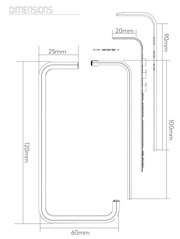 log电子苹果手机保护套——保险杠结构的电子界