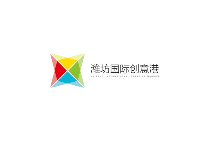 潍坊国际创意港半岛工业设计中心办公空间标识设计