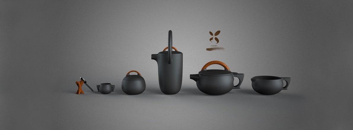 《筝》新中式-茶杯设计