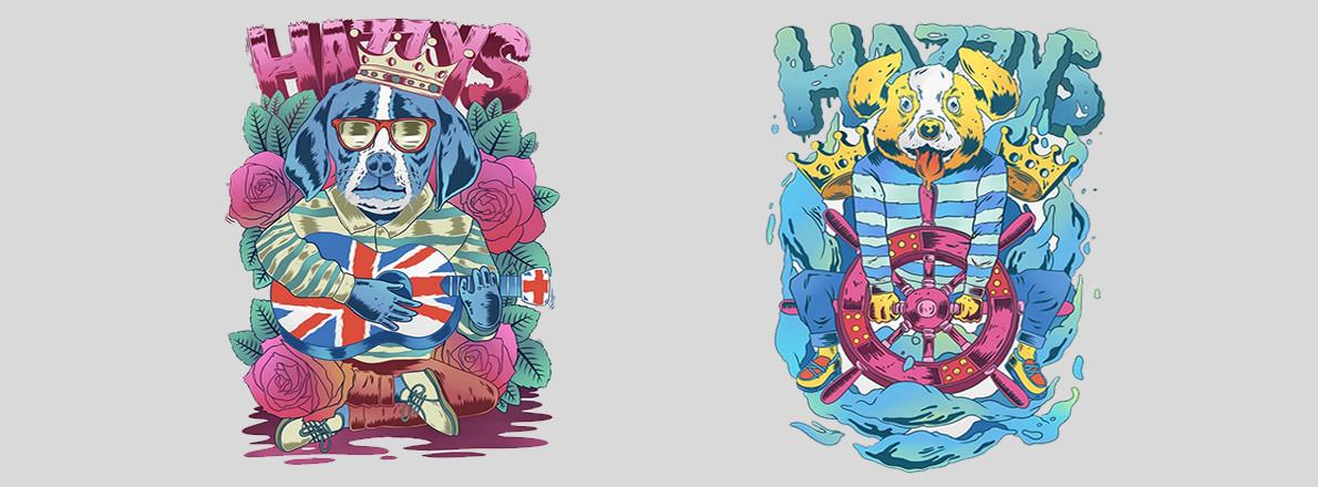 HAZZYS服饰图案设计