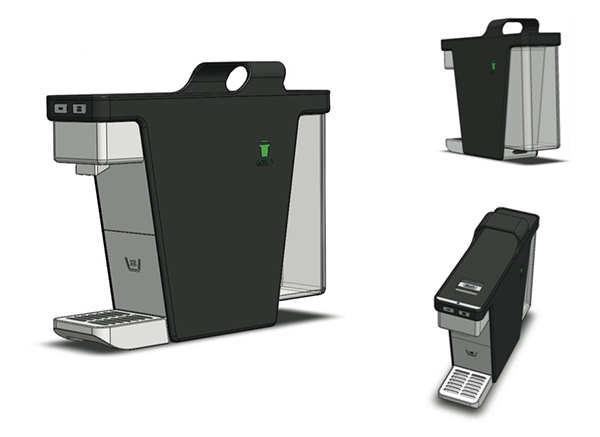 提供产品设计_家电设计_咖啡机设计_胶囊机设计