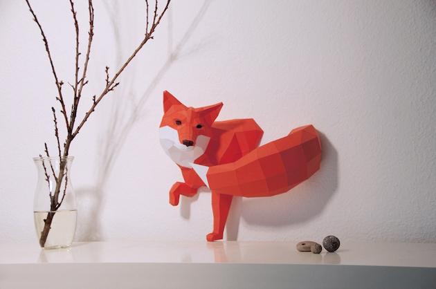 走出数字化世界的折纸动物