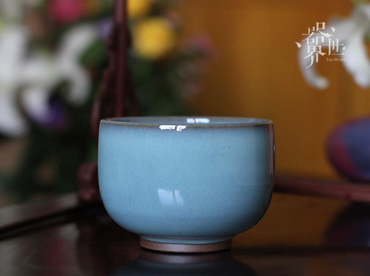 钧瓷茶碗_设计师原创作品_设区网