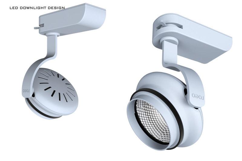 led轨道灯设计方案