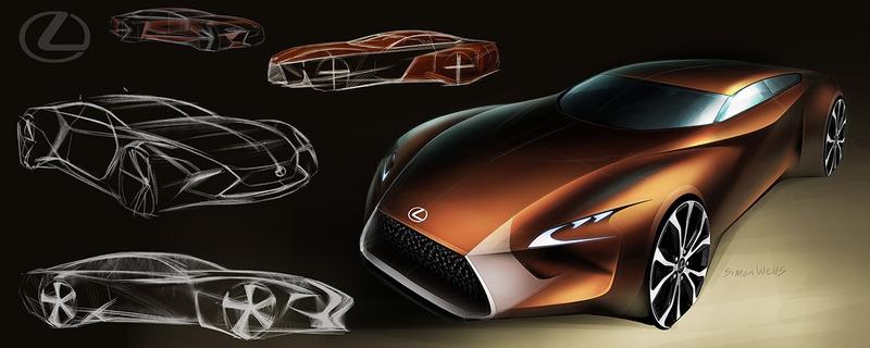 simon wells汽车概念设计