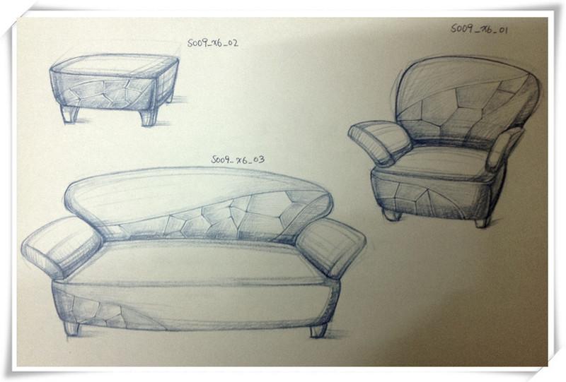 家具产品手绘设计_设计师原创作品_设区网