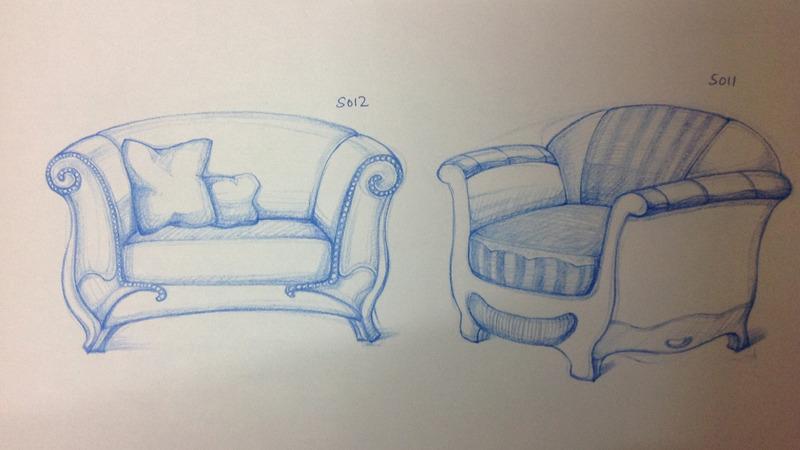 家具产品手绘设计_商机