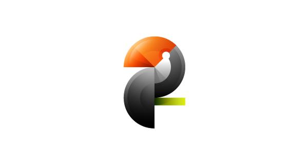 多彩动物 logo