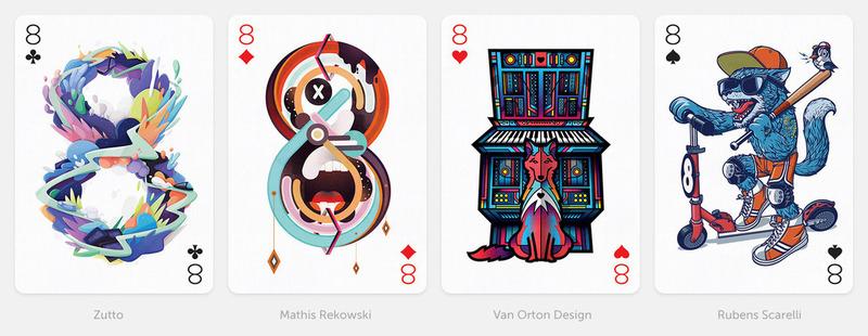 另类扑克牌设计