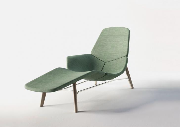 这款atoll优雅休闲躺椅由法国设计师patrick norguet为tacchini