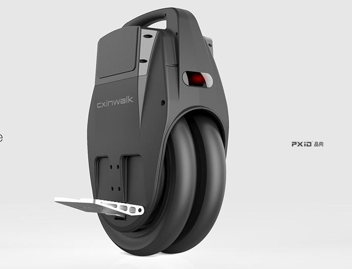 电动独轮车外观设计 品向工业设计