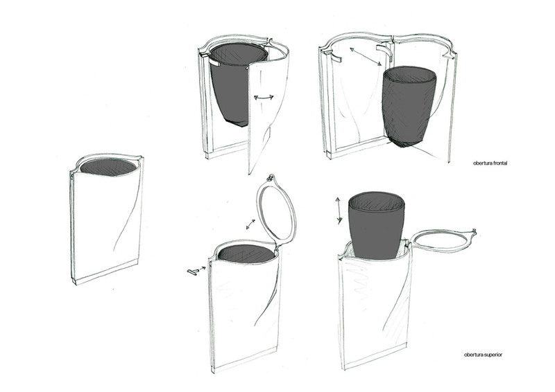 fontana垃圾桶设计