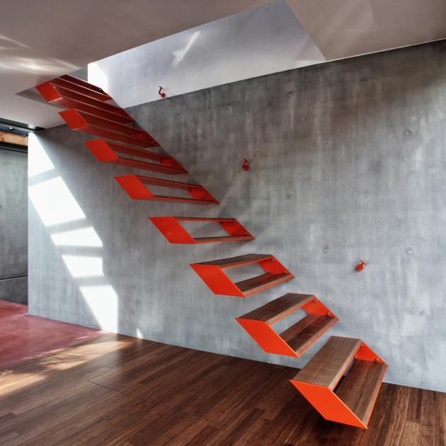 时尚家园的创意楼梯