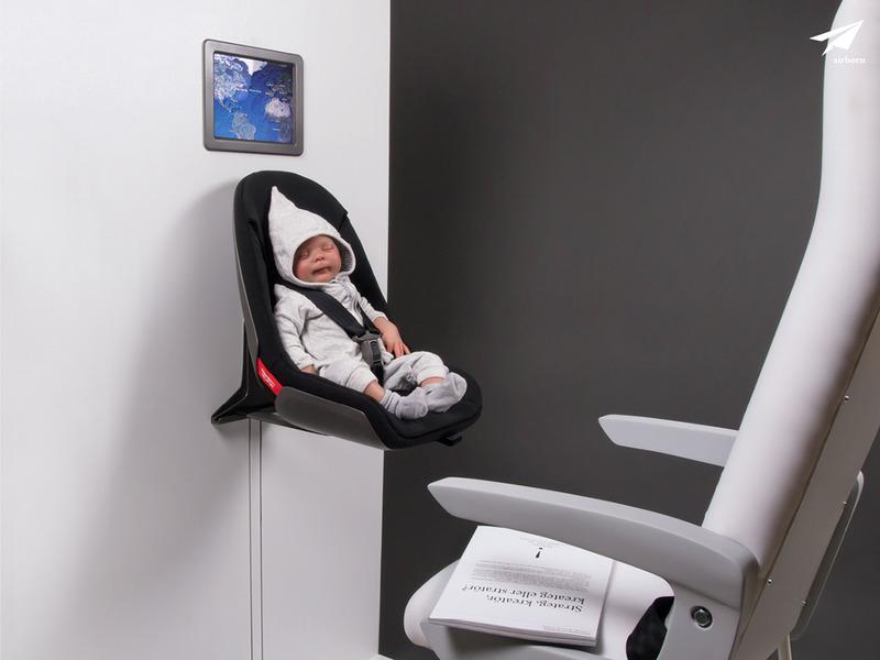 airborn婴儿飞机座椅
