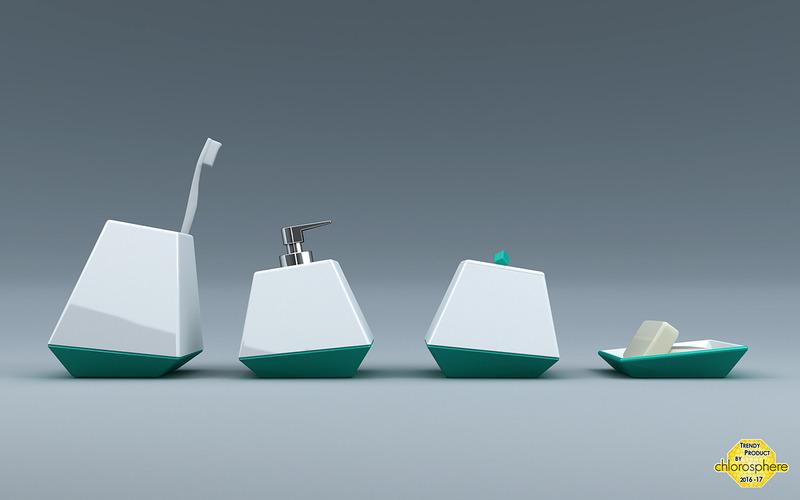 diagonal洗浴四件套