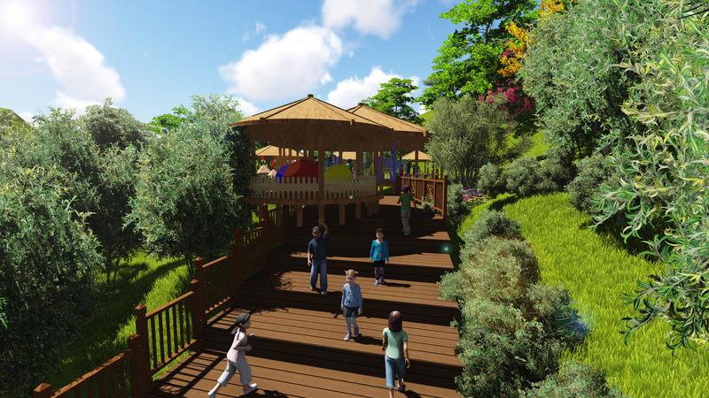傈僳族风情园景观概念设计