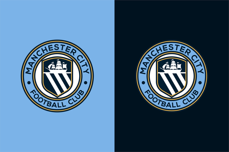 曼城足球俱乐部新队徽设计图片