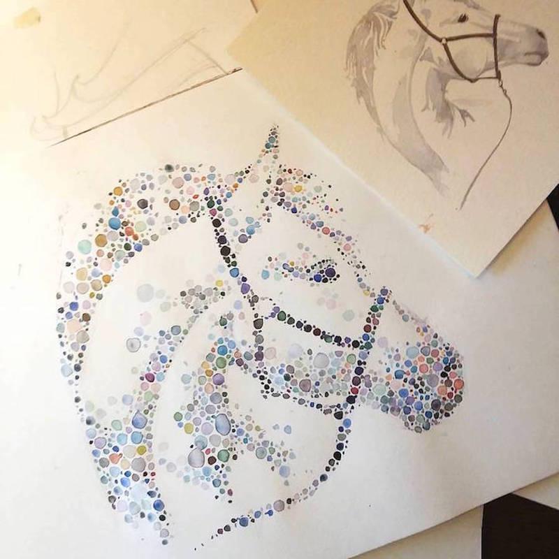 动物绘画_灵感_设区网