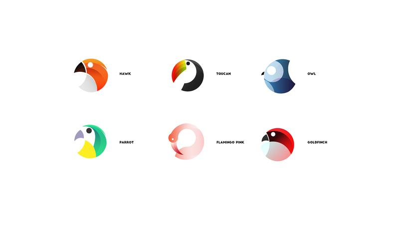 simone aiosa鸟主题logo设计_灵感_设区网