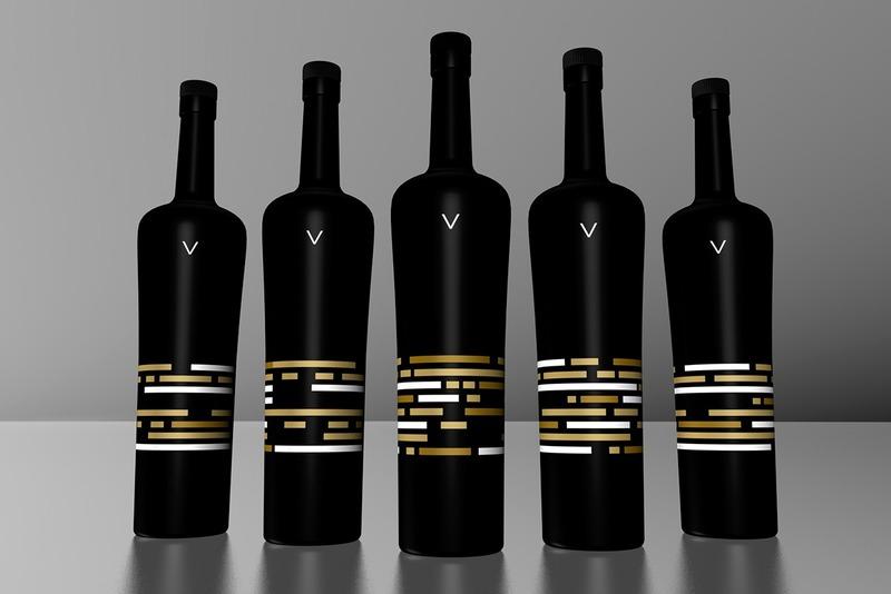 伏特加酒瓶设计