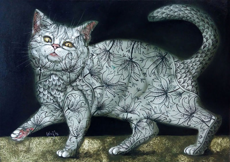 壁纸 动物 恐龙 猫 猫咪 小猫 桌面 800_564