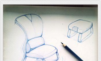 家具产品手绘设计   图片